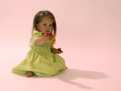 3D fotografie - portrét