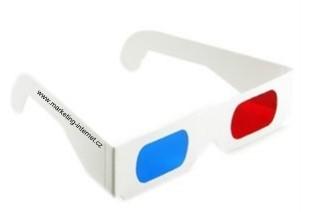 3D Fotografie / BRýle pro prohlížení 3D fotografie